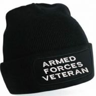 Armed forces veteran beanie b445