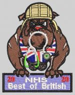 NHS Bulldog patch