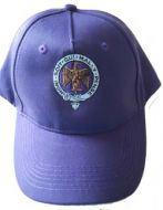 Purple Pompadours baseball cap
