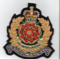 The Duke of Lancashire Regiment Veteran Blazer Badge