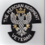 The Mercian Regiment blazer badge