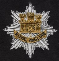 Royal Anglian blazer badge