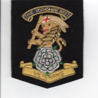 The Yorkshire Regiment veteran blazer badge