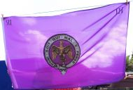 Pompadours flag 5 x 3 double sided