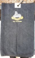 Poachers badged golf towel
