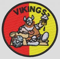 Vikings Hager Patch