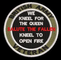 salute the fallen patch