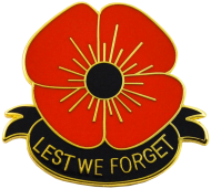 Lest we forget large poppy