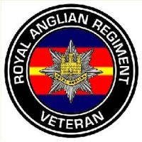 The Royal Anglian Regiment round sticker